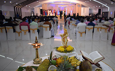 ac wedding hall in kottayam